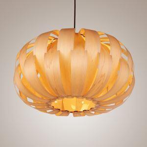 ペンダントライト 照明器具 店舗照明 リビング照明 天井照明 天然突き板製 寝室 和風 1灯 PLOP2091M