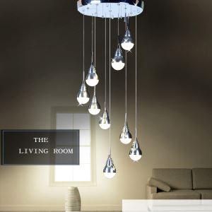 LEDペンダントライト LED天井照明 照明器具 9灯 円形