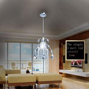 LEDペンダントライト LEDクリスタル照明 天井照明 子供屋照明 1灯