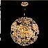 ペンダントライト 北欧照明 天井照明 球型 金色 6灯-D50cm