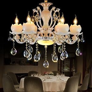シャンデリア クリスタル照明 照明器具 インテリア照明 姫系 蓮 6灯