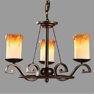 シャンデリア 北欧照明 照明器具 インテリア照明 ビンテージ 3灯