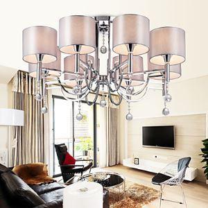 シャンデリア 天井照明 照明器具 インテリア照明 リビング照明 8灯