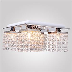 シーリングライト 照明器具 天井照明 リビング用 寝室用 クリスタル付 オシャレ G9-5灯