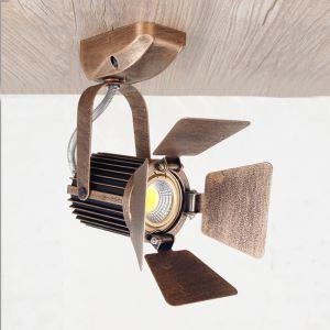 スポットライト シーリングライト 玄関照明 店舗照明 照明器具 カメラ型 ヴィンテージ 1灯 FMS129