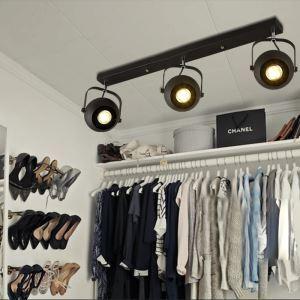 スポットライト シーリングライト 玄関照明 店舗照明 照明器具 3連方形 3灯 FMS158