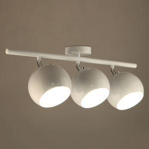 スポットライト シーリングライト 玄関照明 照明器具 白色 3連 3灯