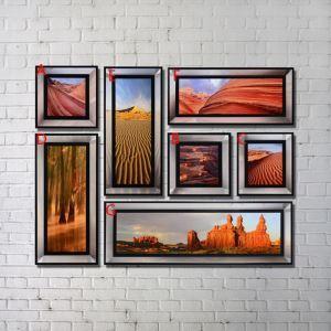 プリント絵画 印象画 砂漠景 アートプリント フレームなし 4003FAMIRR01