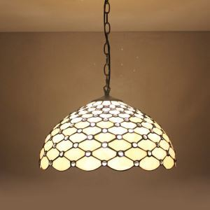 ティファニーライト ペンダントライト ステンドグラスランプ 照明器具 天井照明 D20/30/40cm LTPL184