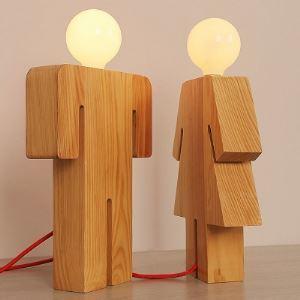 テーブルランプ 卓上照明 テーブルライト 人型 男&女 1灯