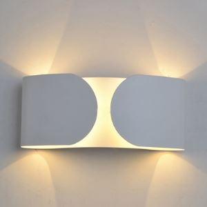 ウォールランプ 壁掛けライト 壁付け照明 白色 1灯 W18cm