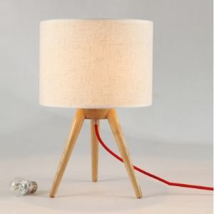 テーブルランプ テーブルライト 卓上照明 三脚付き 田舎風 1灯