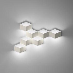 壁掛け照明 ウォールランプ 壁掛けライト 玄関照明 立方体 7灯