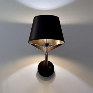 壁掛け照明 ブラケット ウォールランプ 玄関照明 間接照明 黒色 1灯