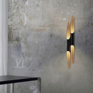 壁付け照明 ウォールランプ 壁掛けライト パイプ照明 北欧風 2灯