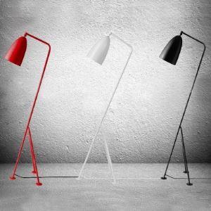 フロアスタンド スタンドライト スタンド照明器具 フロアランプ 3色-1灯 H128cm