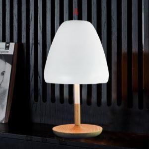 テーブルランプ 卓上照明 テーブルライト スタンド照明 木製台座 1灯 HZ222
