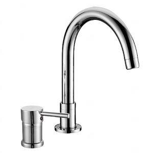 洗面蛇口 バス水栓 水道蛇口 冷熱混合水栓 水栓金具 クロム