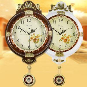 壁掛け時計 振り子時計 壁時計 アンティーク 2色