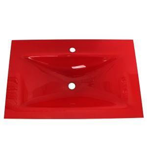 彩色上絵手洗器 手洗い鉢 洗面ボウル 洗面台 洗面器 排水金具付 HAM082