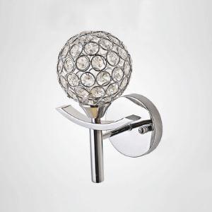 壁掛けライト ウォールランプ 照明器具 ブラケット 玄関照明 クリスタル 球型 1灯 BEH327850