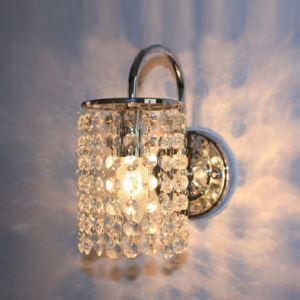 壁掛けライト 壁付け照明 ウォールランプ 玄関照明 クリスタル 1灯 BEH276733