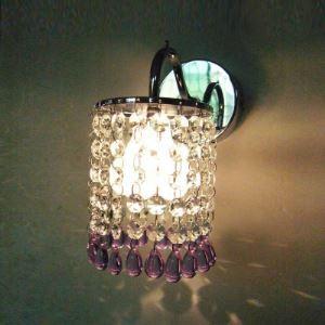 壁掛けライト 玄関照明 ウォールランプ 照明器具 クリスタル 1灯 BEH276745