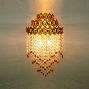 壁掛けライト ブラケット 照明器具 ウォールランプ クリスタル 3灯 BEH304305