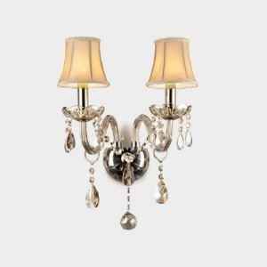 壁掛けライト ウォールランプ クリスタル照明 照明器具 琥珀色 2灯 BEH314532