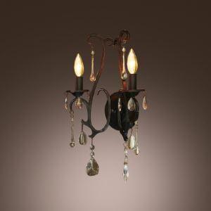 壁掛けライト ブラケット 玄関照明 照明器具 アンティーク調 2灯 BEH359199