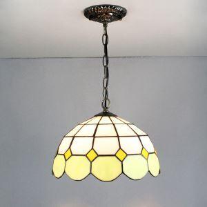 ペンダントライト ティファニーライト ステンドグラスランプ リビング照明 玄関照明 D20/30/40cm XCDS028