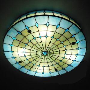 ティファニーライト シーリングライト ステンドグラス 天井照明 3灯 BEH404121