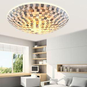 ティファニーライト シーリングライト ステンドグラスランプ 天井照明 2灯 BEH399404