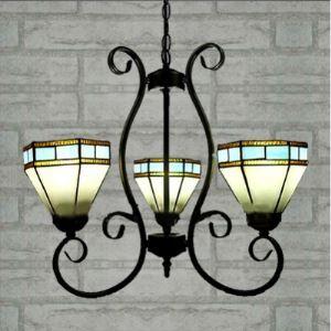 ステンドグラス シャンデリア ティファニーライト 照明器具 3灯 BEH403760