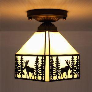 ティファニーライト シーリングライト ステンドグラスランプ 天井照明 1灯 BEH403988