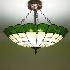 ティファニーライト ペンダントライト ステンドグラス 照明器具 4灯 BEH404158