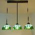 ティファニーライト ペンダントライト ステンドグラス 照明器具 3灯 BEH404143