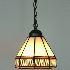 ティファニーライト ペンダントライト ステンドグラスランプ 照明器具 玄関照明 欧米風 1灯 BEH3748