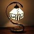 テーブルライト ティファニーライト ステンドグラスライト 卓上照明 寝室スタンド 1灯 BEH399418