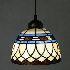 ティファニーライト ペンダントライト ステンドグラス 照明器具 1灯 BEH403587