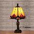 テーブルライト ステンドグラスランプ ティファニーライト 卓上照明 間接照明 デスクスタンド 1灯 BEH404041