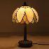 ステンドグラス テーブルランプ ティファニーライト 卓上照明 間接照明 1灯 BEH403161