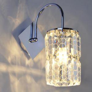 壁掛けライト ウォールランプ クリスタル照明 照明器具 ブラケット ハニカム柄 1灯