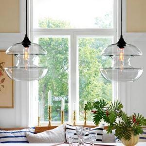 ペンダントライト 天井照明 玄関照明 インテリア照明 ガラス製 1灯 BEH375277