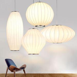 ペンダントライト 照明器具 天井照明 店舗照明 リビング照明 シルク製 北欧風 和風 1灯