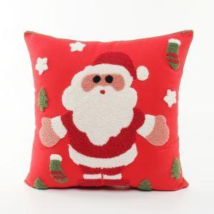 クリスマスクッションカバー 抱き枕カバー 枕カバー サンタクロース柄 09-DP-001