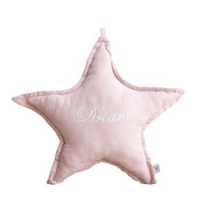 クッションカバー 抱き枕カバー 腰まくら Anna 星型 ピンク&ホワイト 11-DP-008