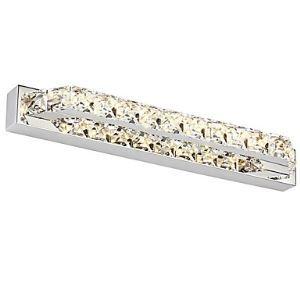 LEDミラ前用照明 壁掛けライト ウォールランプ ブラケット クリスタル 10W LED対応 LB64059