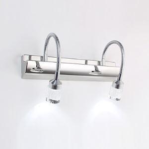 LED壁掛け照明 ミラ前用ブラケット ウォールランプ 浴室照明 間接照明 6W LED対応 LB64053
