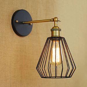壁掛けライト ブラケット ウォールランプ 玄関照明 階段照明 工業風 北欧風照明 1灯 LB57180
